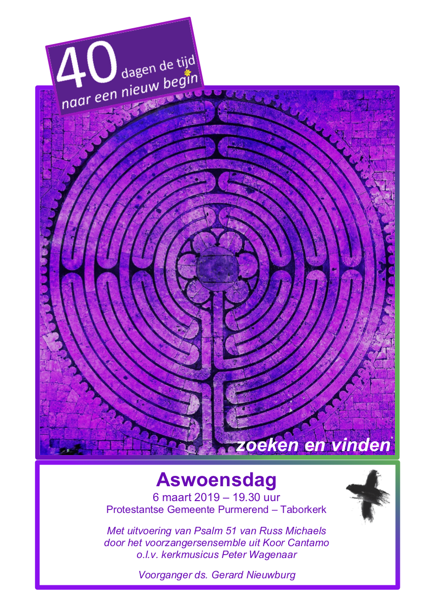 190306 PGP Aswoensdag poster